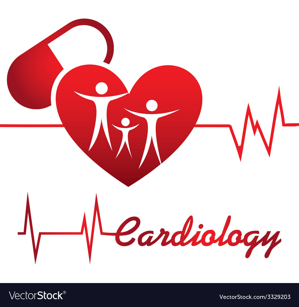 Cardiology design vector | Price: 1 Credit (USD $1)