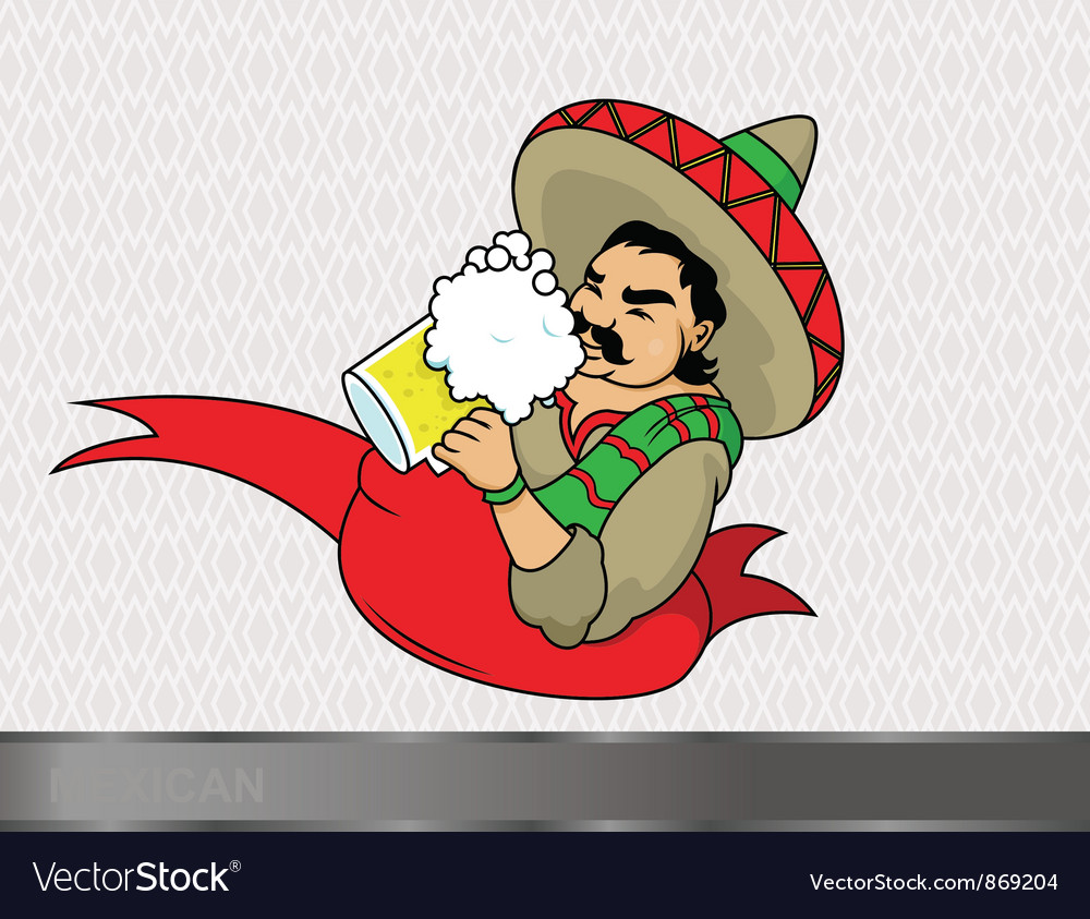 Cartoon mexican vector | Price: 1 Credit (USD $1)