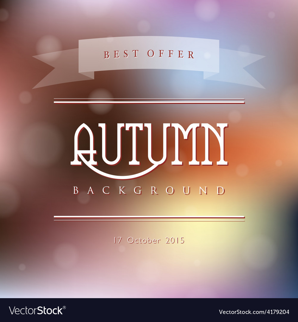 Creative abstract natural background vector | Price: 1 Credit (USD $1)