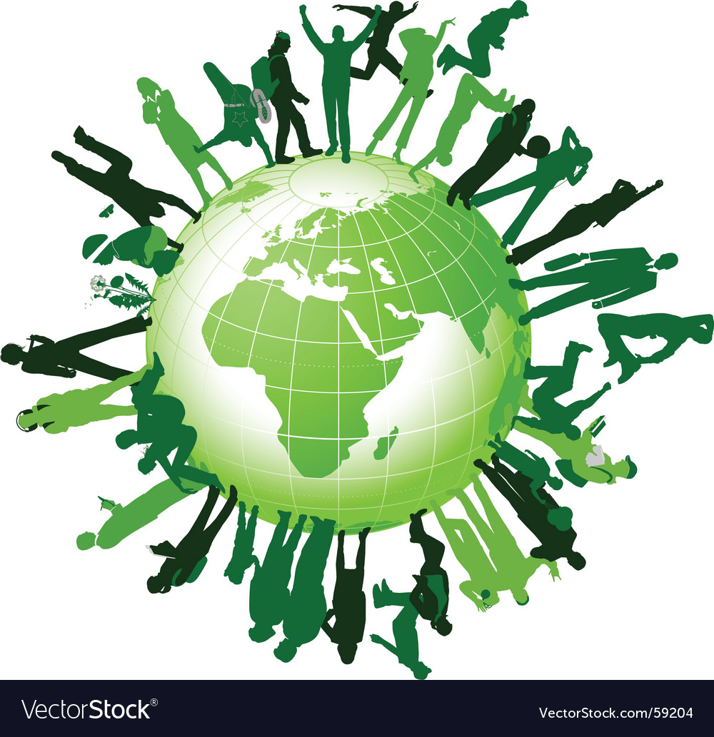 Global community vector | Price: 1 Credit (USD $1)