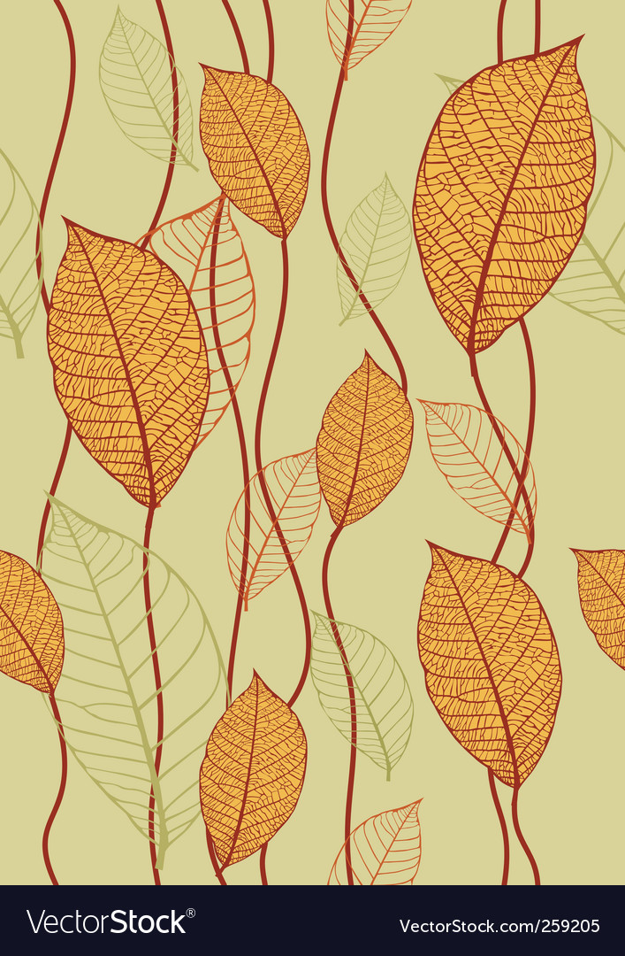 Leaves texture vector | Price: 1 Credit (USD $1)