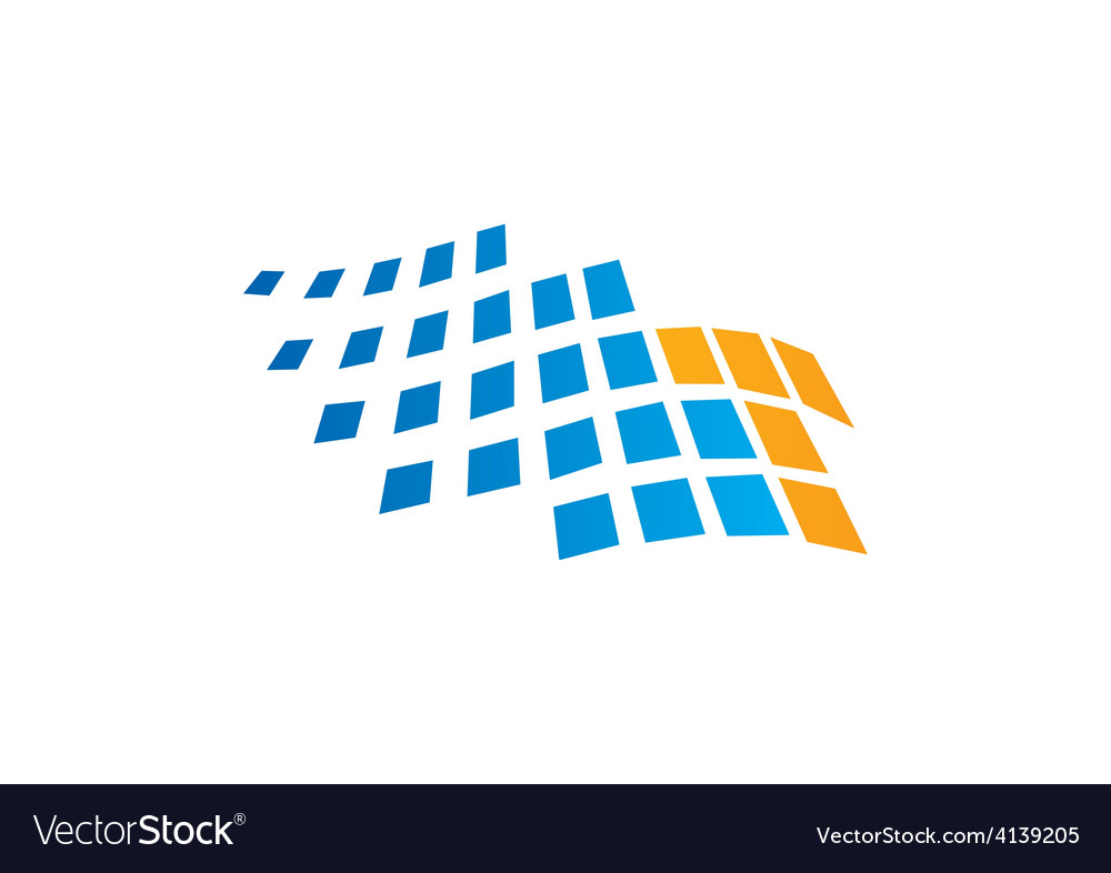 Spectrum abstract technology logo vector | Price: 1 Credit (USD $1)