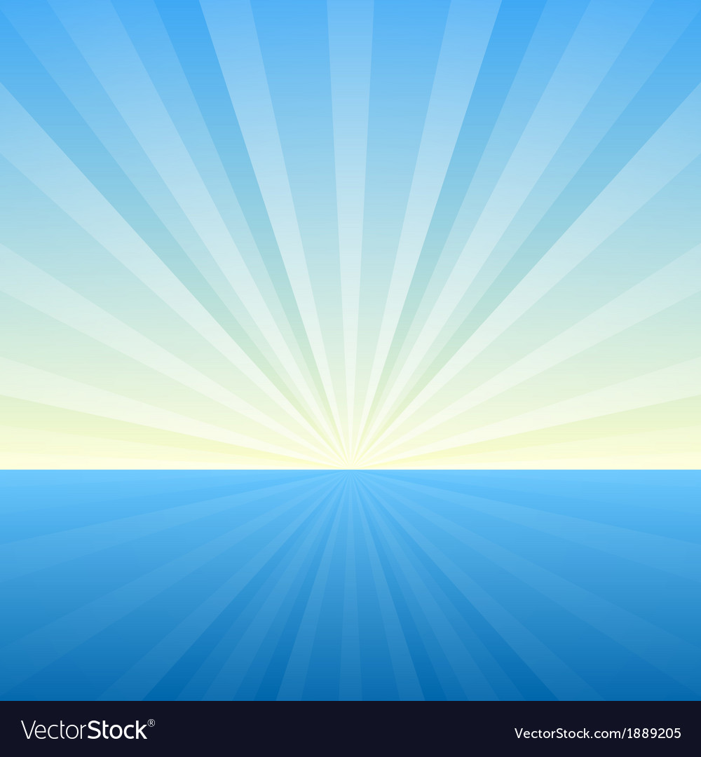 Sunburst background cover template vector | Price: 1 Credit (USD $1)