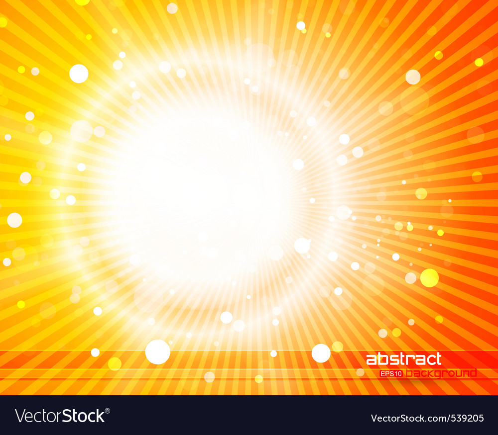 Sunlight background vector | Price: 1 Credit (USD $1)