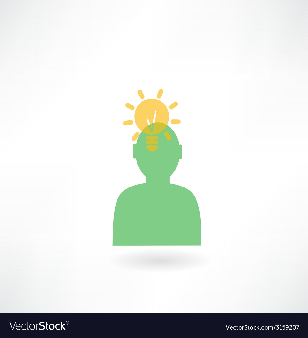 People with the idea of an icon vector | Price: 1 Credit (USD $1)