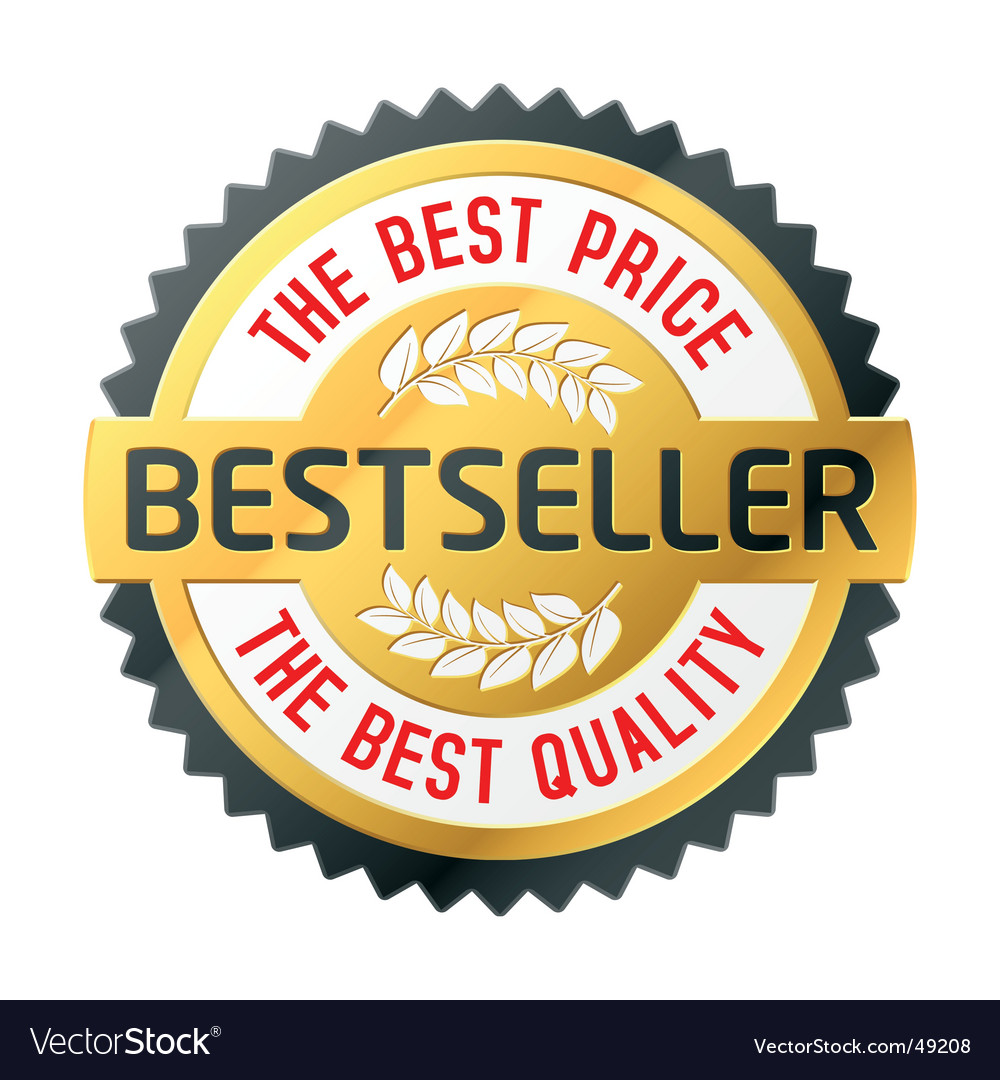 Bestseller emblem vector | Price: 1 Credit (USD $1)
