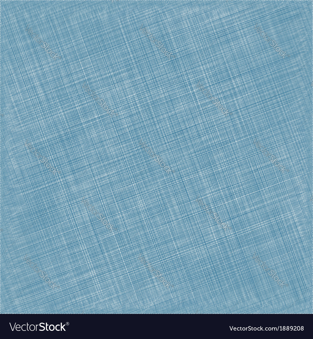 Blue natural cotton fabric textile background vector | Price: 1 Credit (USD $1)