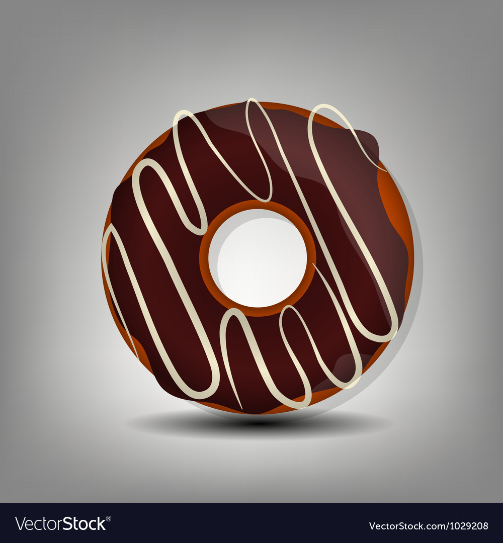 Donut icon vector | Price: 1 Credit (USD $1)