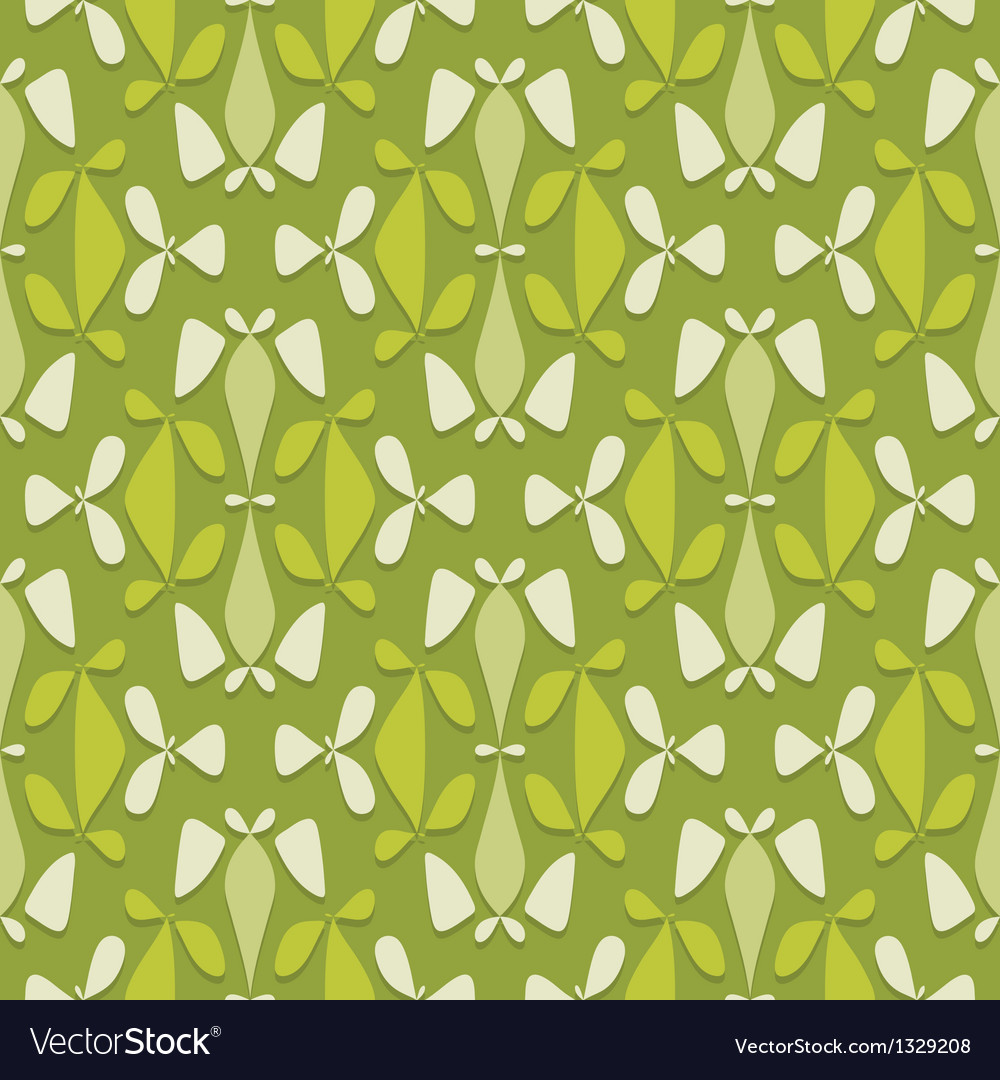 Flower bed ornament vector | Price: 1 Credit (USD $1)