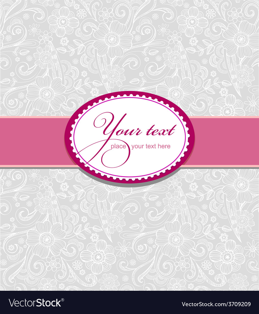 Design for greeting card vector | Price: 1 Credit (USD $1)