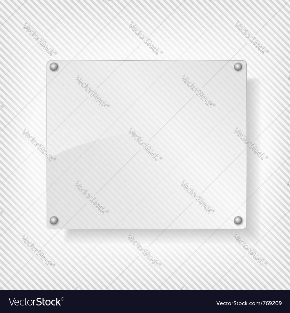 Glass board vector | Price: 1 Credit (USD $1)