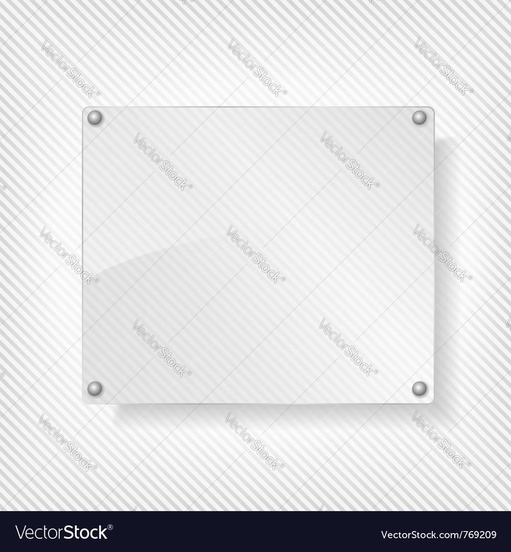Glass board vector | Price: 1 Credit (USD $1)