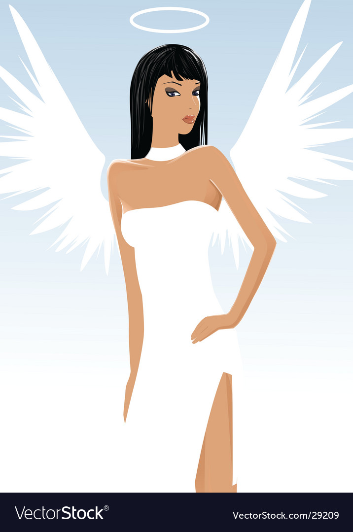 Heaven and hell vector | Price: 3 Credit (USD $3)