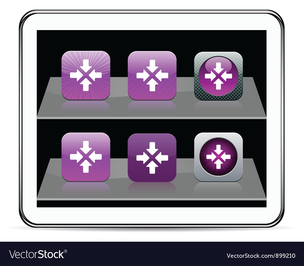 Click here purple app icons vector | Price: 1 Credit (USD $1)