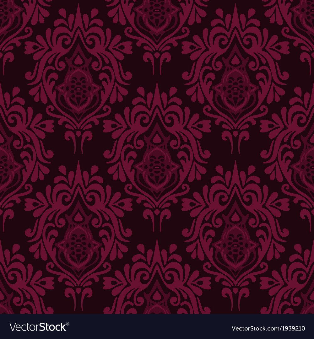 Damask royal luxury seamless vector | Price: 1 Credit (USD $1)