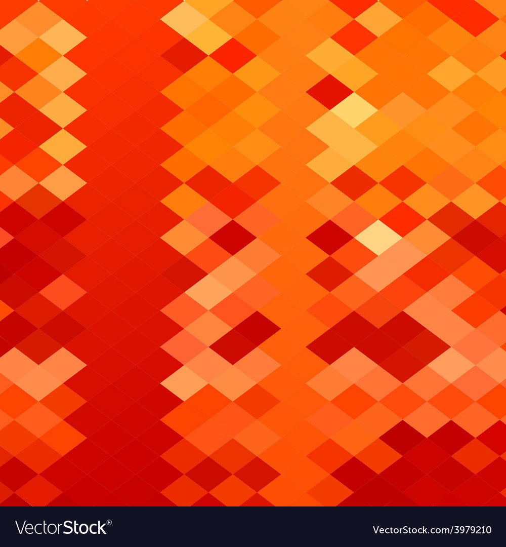 Red weave abstract low polygon background vector | Price: 1 Credit (USD $1)