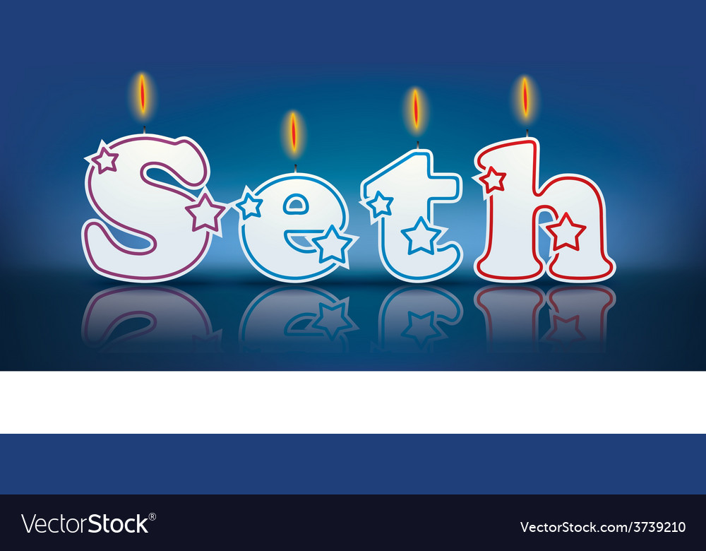Seth candles vector | Price: 1 Credit (USD $1)