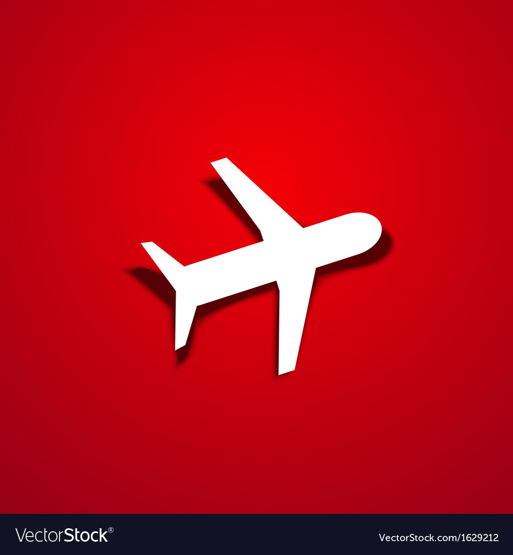 Airplane icon background eps10 vector | Price: 1 Credit (USD $1)