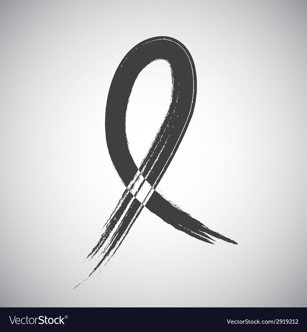 Awareness ribbon vector | Price: 1 Credit (USD $1)