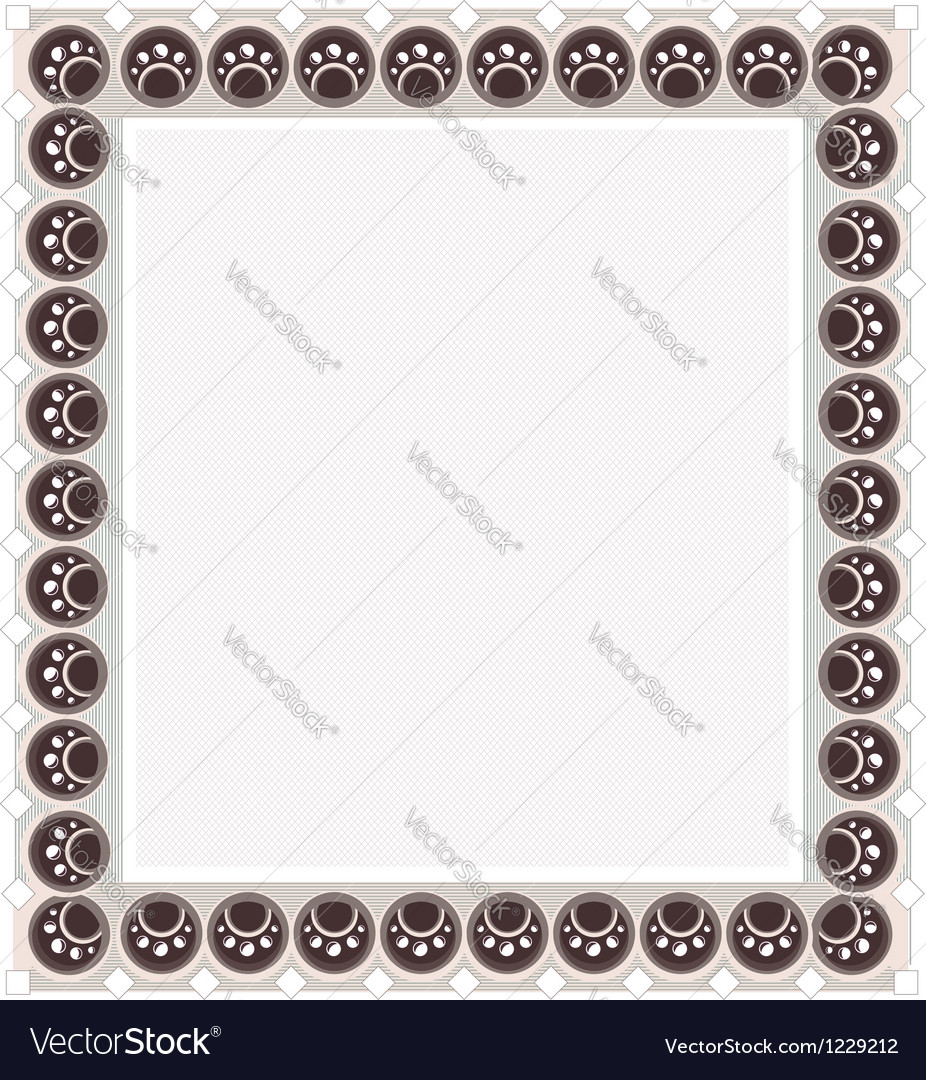 Diploma frame vector | Price: 1 Credit (USD $1)