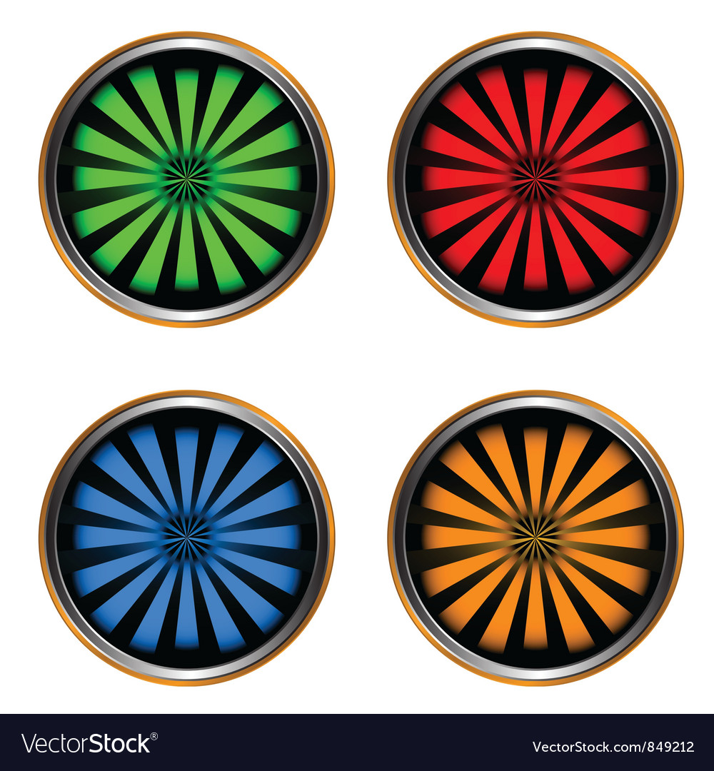Four web icons vector | Price: 1 Credit (USD $1)