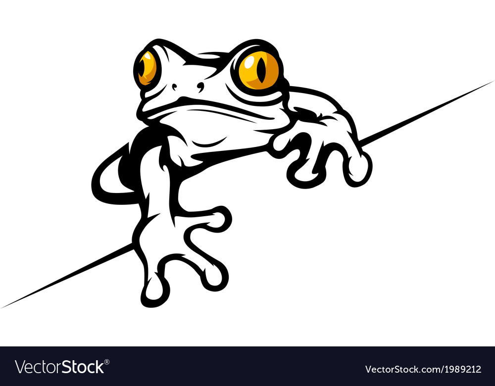 Frog cool vector | Price: 1 Credit (USD $1)