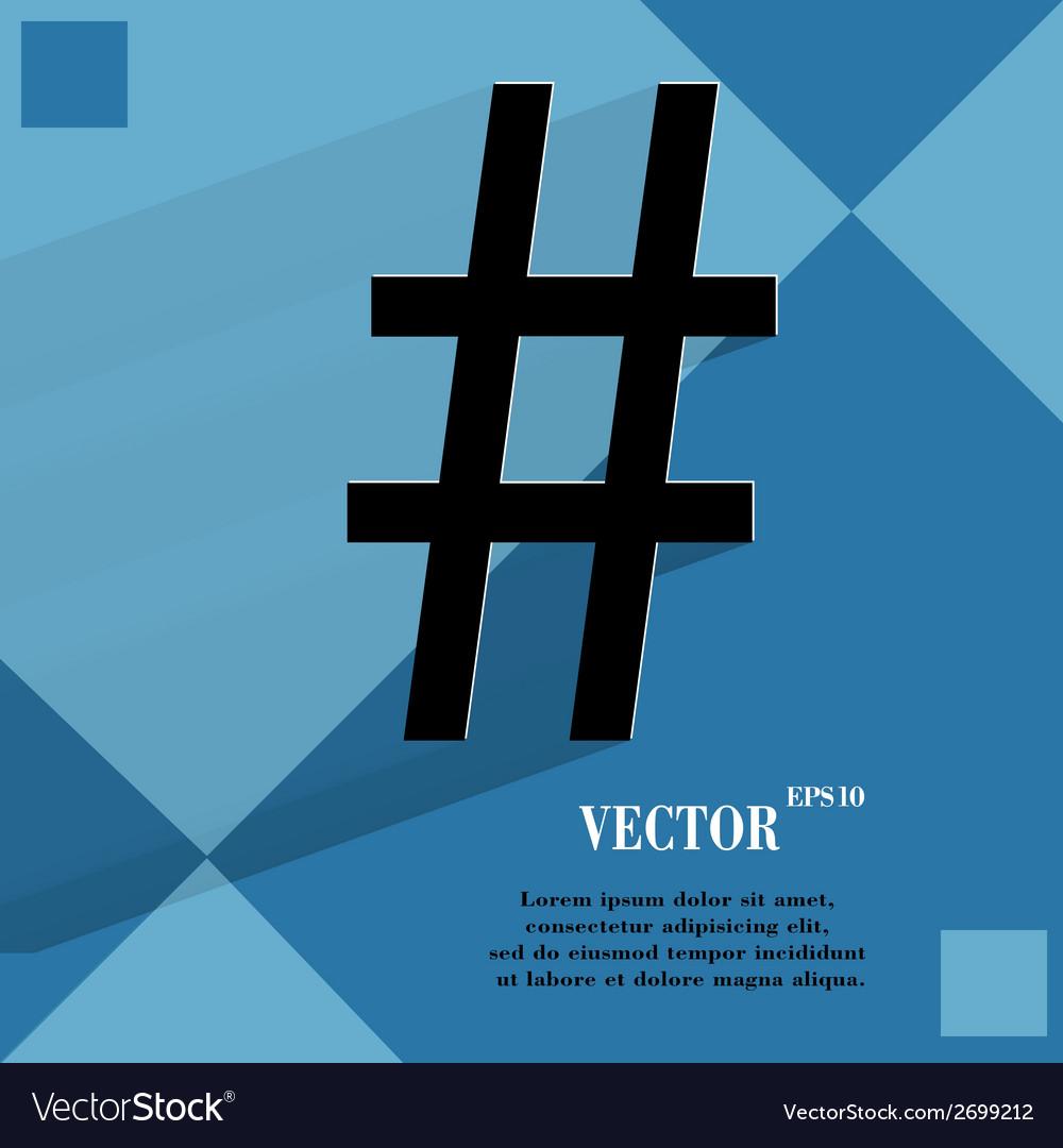 Sharp flat modern web design on a flat geometric vector   Price: 1 Credit (USD $1)