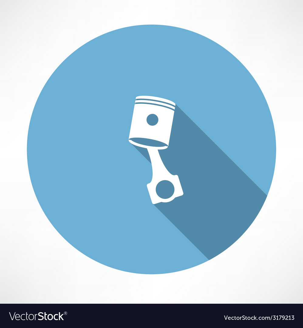 Car piston icon vector | Price: 1 Credit (USD $1)
