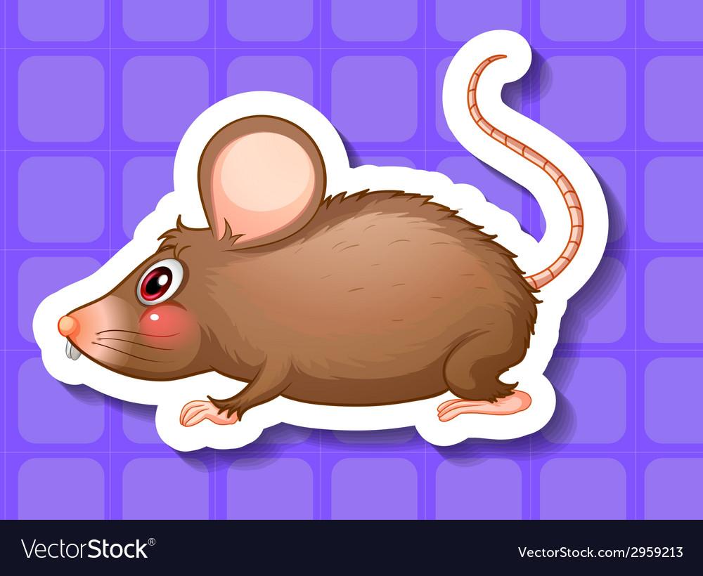 Rat vector   Price: 1 Credit (USD $1)