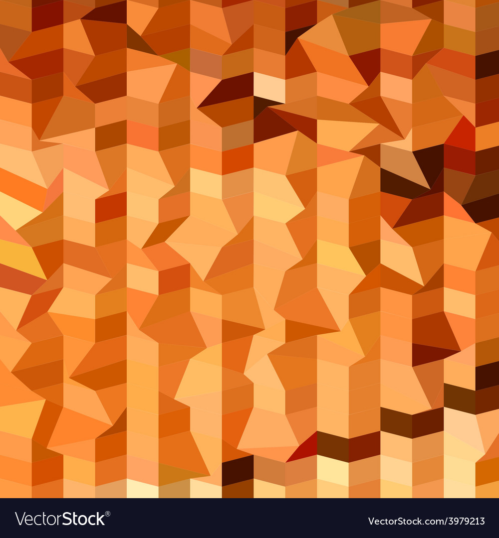 Tree trunks abstract low polygon background vector | Price: 1 Credit (USD $1)