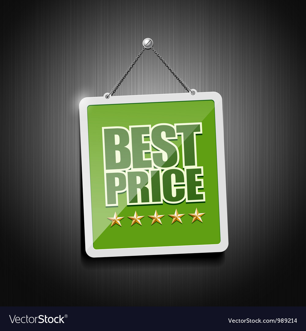 Best price signs hanging with chain vector | Price: 1 Credit (USD $1)