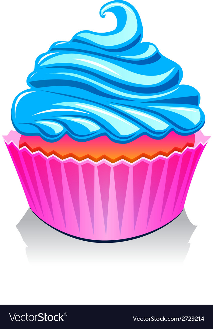 Cake birthday party vector | Price: 1 Credit (USD $1)