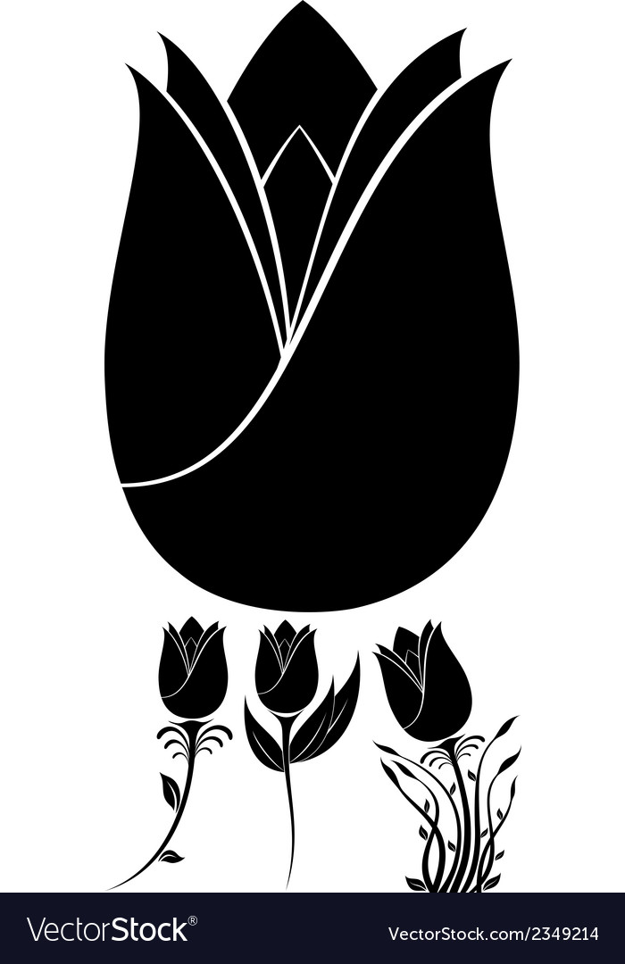 Flowers set 10 vector