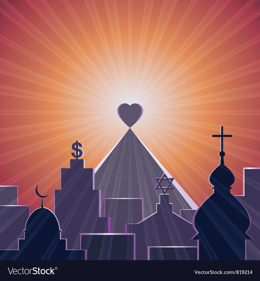 Love is my religion vector | Price: 1 Credit (USD $1)