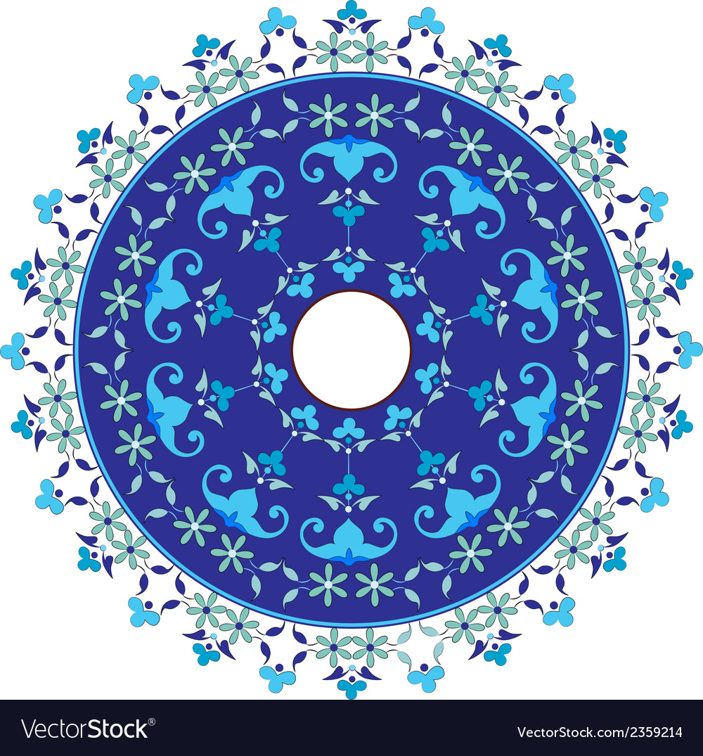 Ottoman motifs design series with fifty vector | Price: 1 Credit (USD $1)