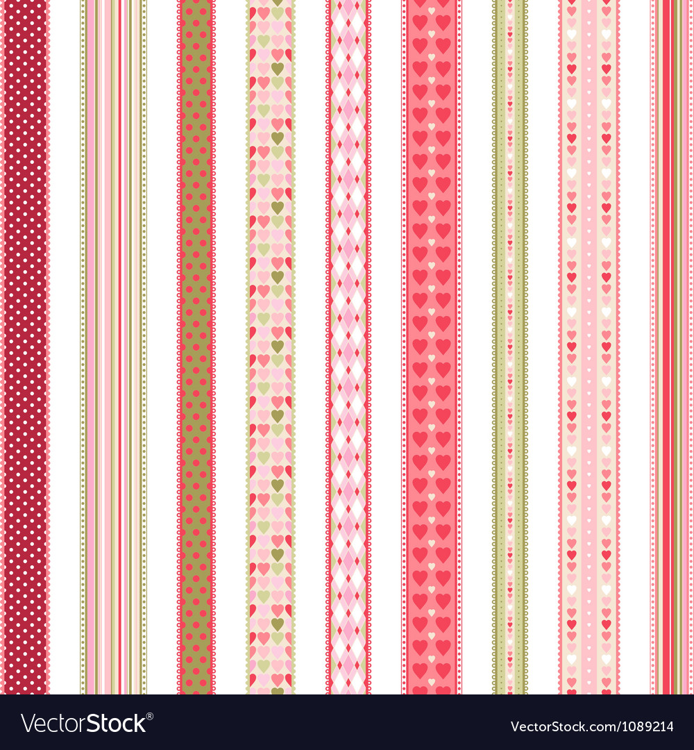 Set of hand drawn lace braid borders vector | Price: 1 Credit (USD $1)
