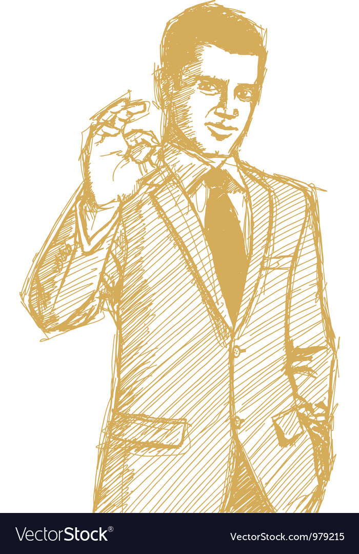 Businessman ok vector   Price: 1 Credit (USD $1)