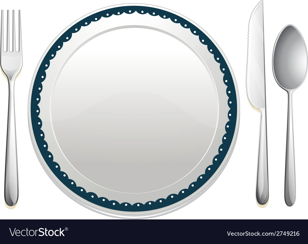 Dining set vector | Price: 1 Credit (USD $1)