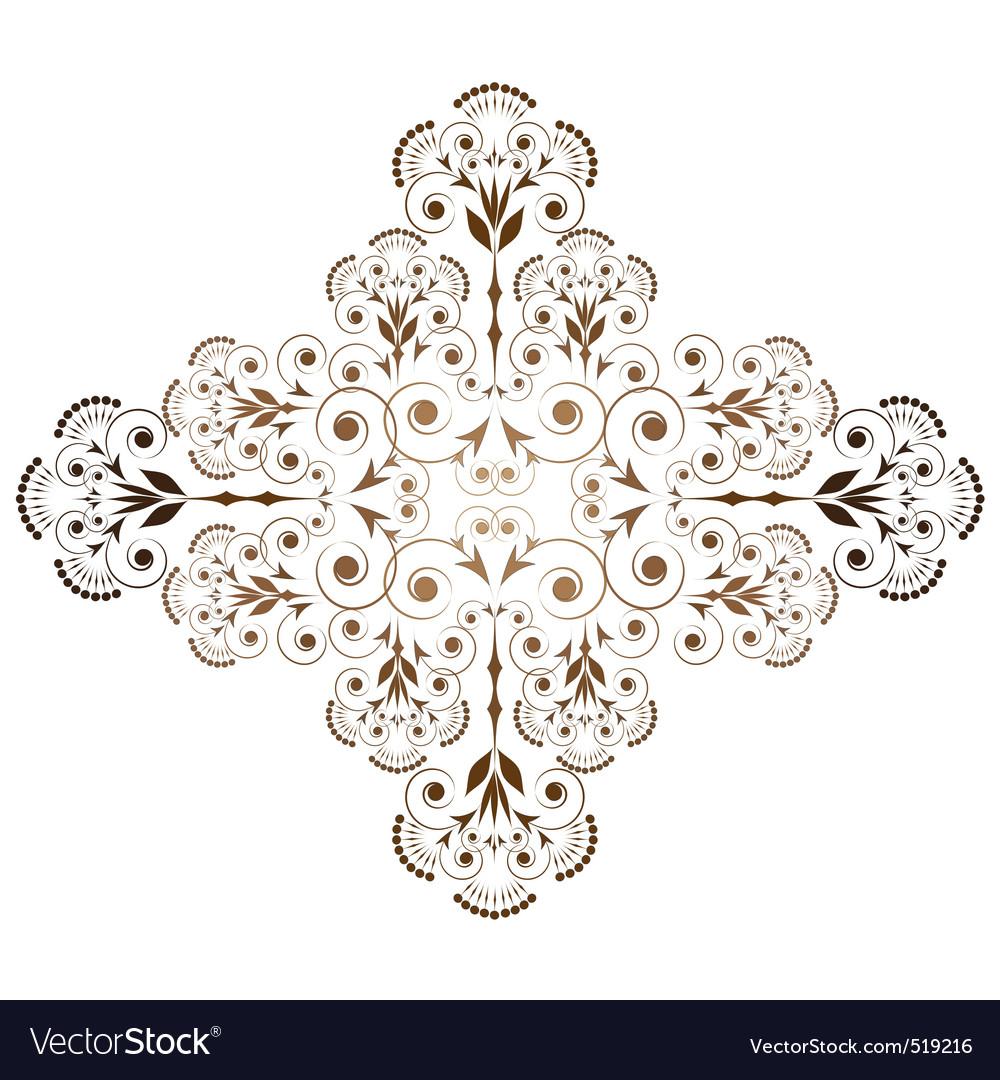 Ornamental vignette vector | Price: 1 Credit (USD $1)