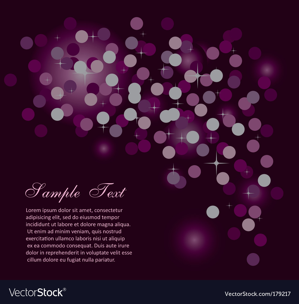 Abstract starlight background vector | Price: 3 Credit (USD $3)