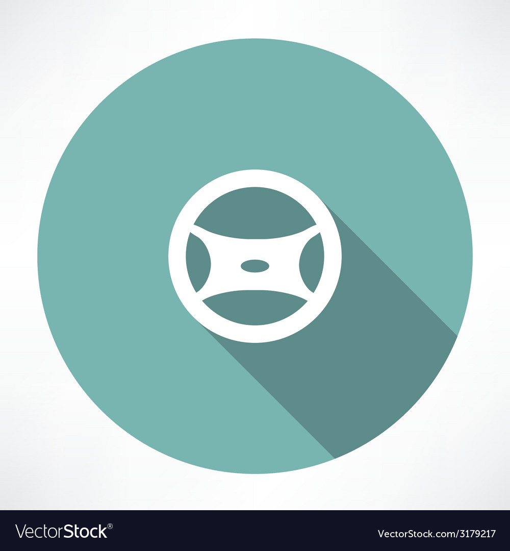 Cars steering wheel vector | Price: 1 Credit (USD $1)