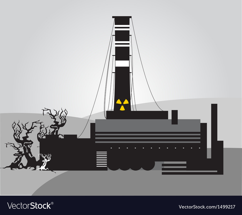 Chernobyl disaster vector | Price: 1 Credit (USD $1)