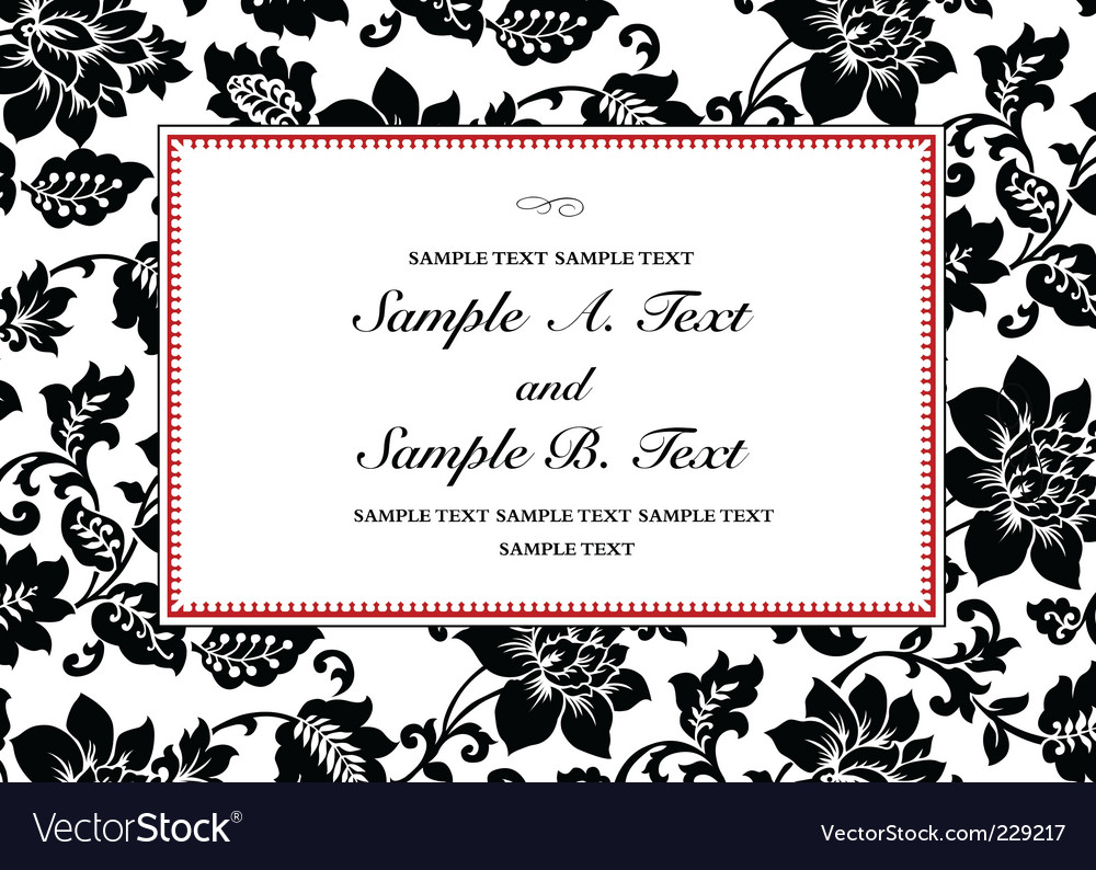 Rose pattern and frame vector   Price: 1 Credit (USD $1)