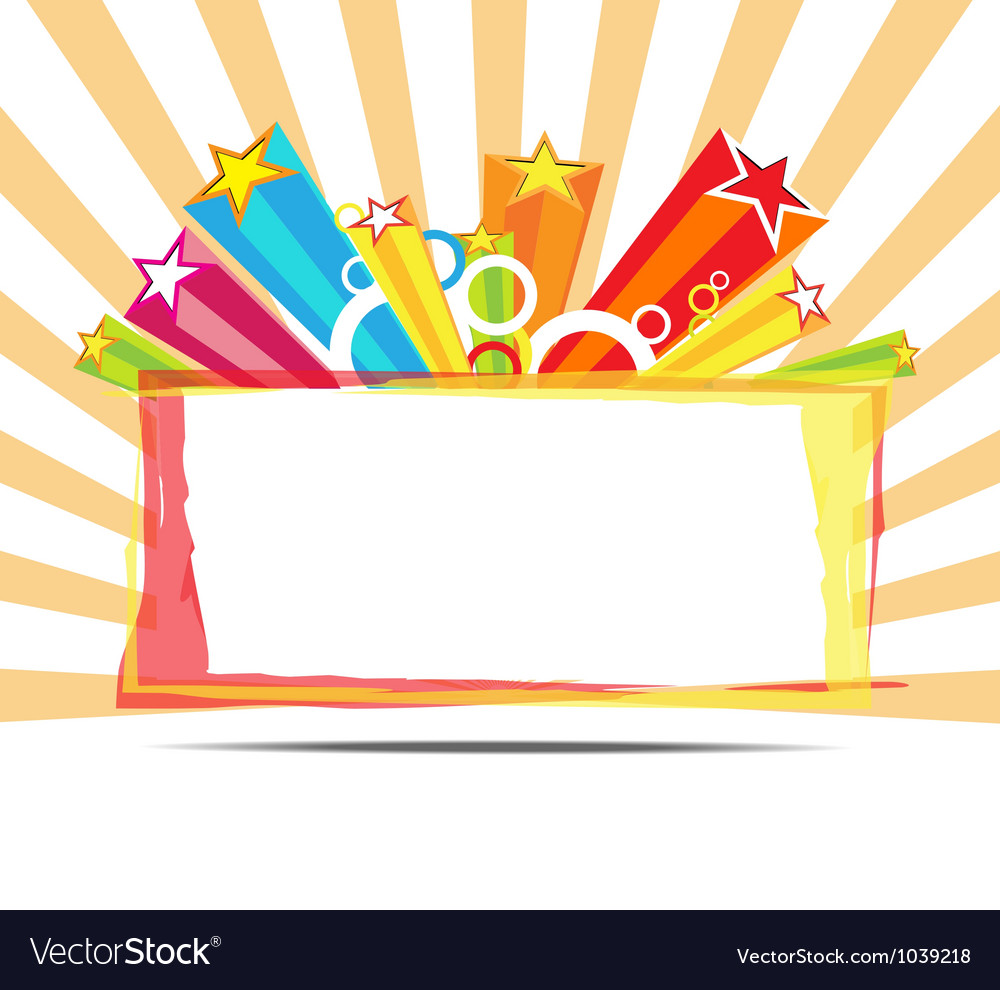 Celebrate decoration background vector | Price: 1 Credit (USD $1)