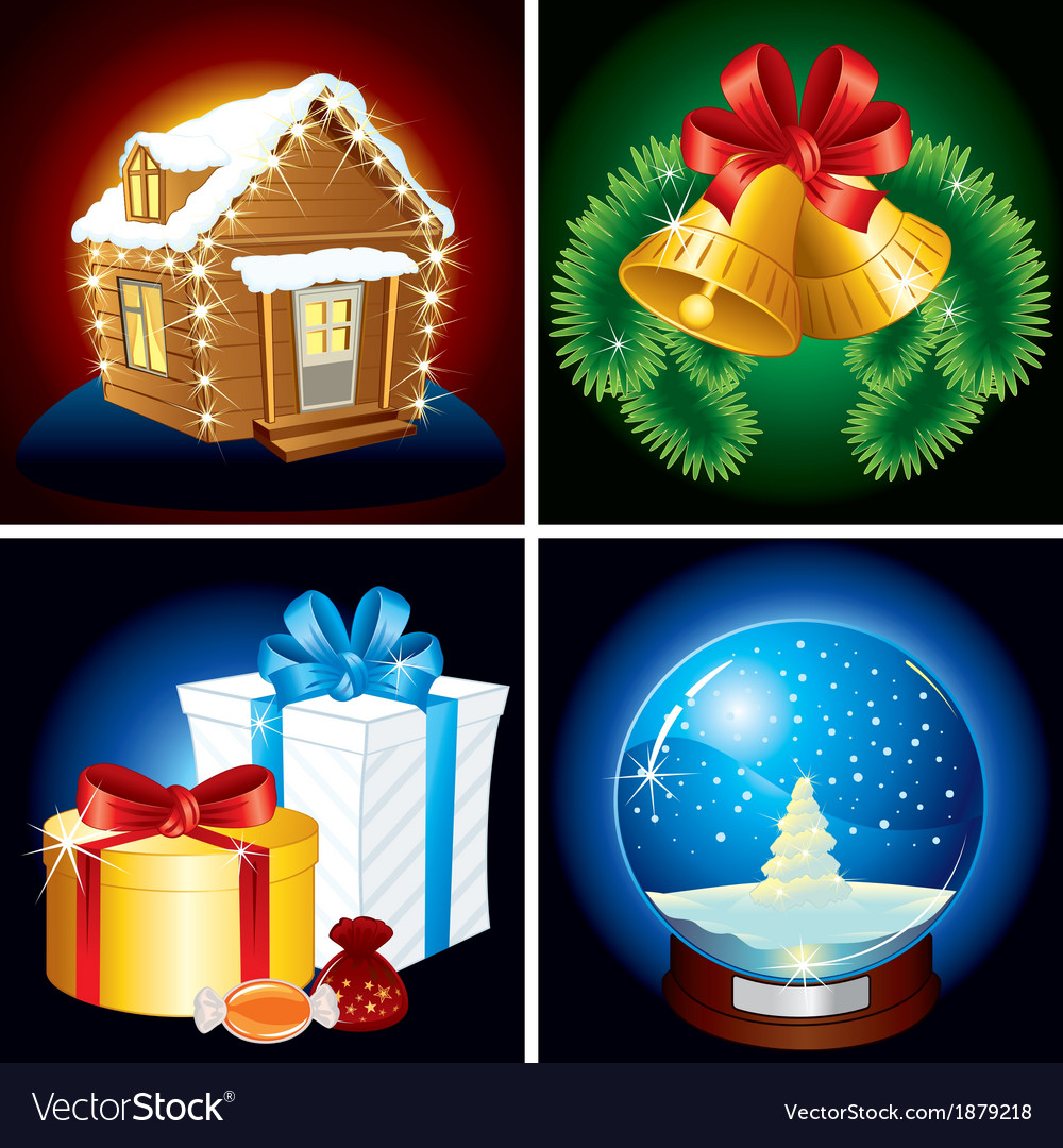 Christmas elements vector | Price: 3 Credit (USD $3)