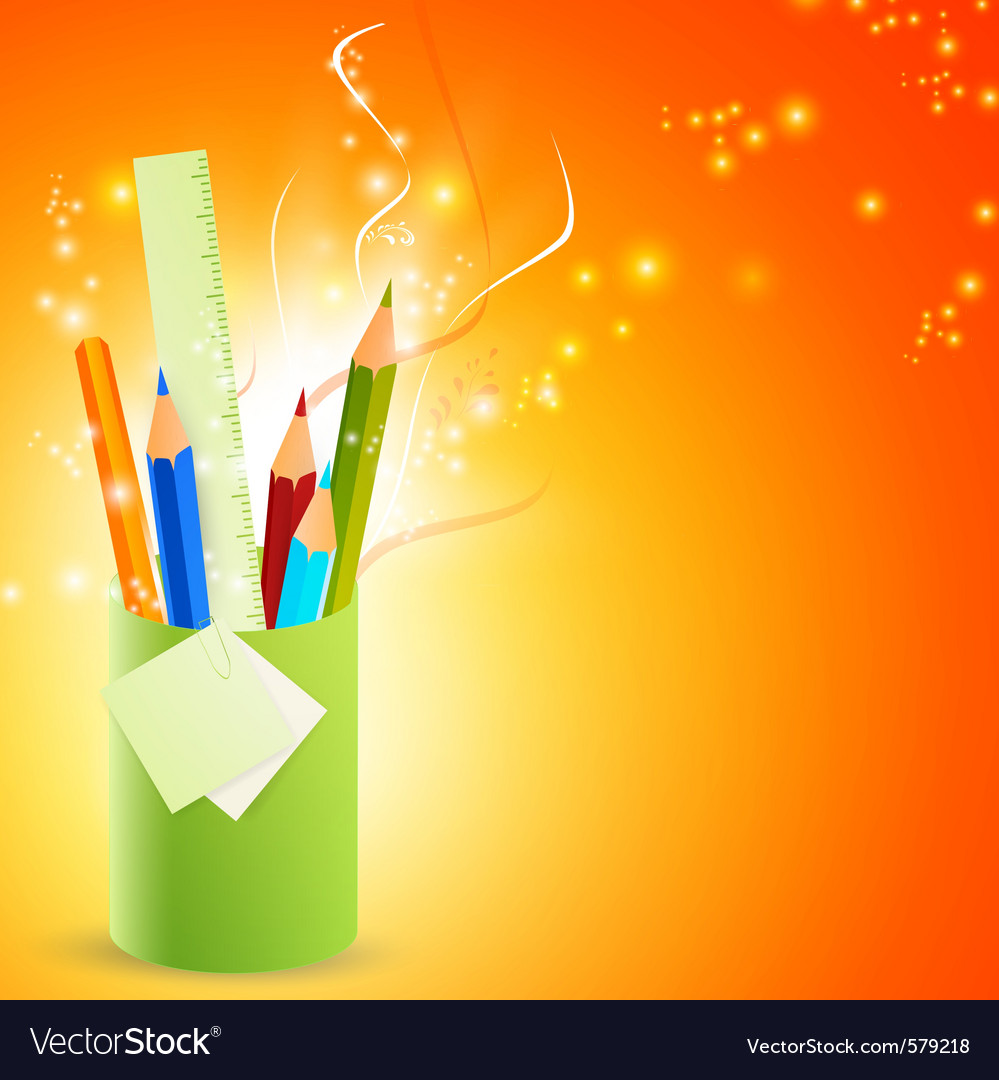 Pencils object vector | Price: 1 Credit (USD $1)