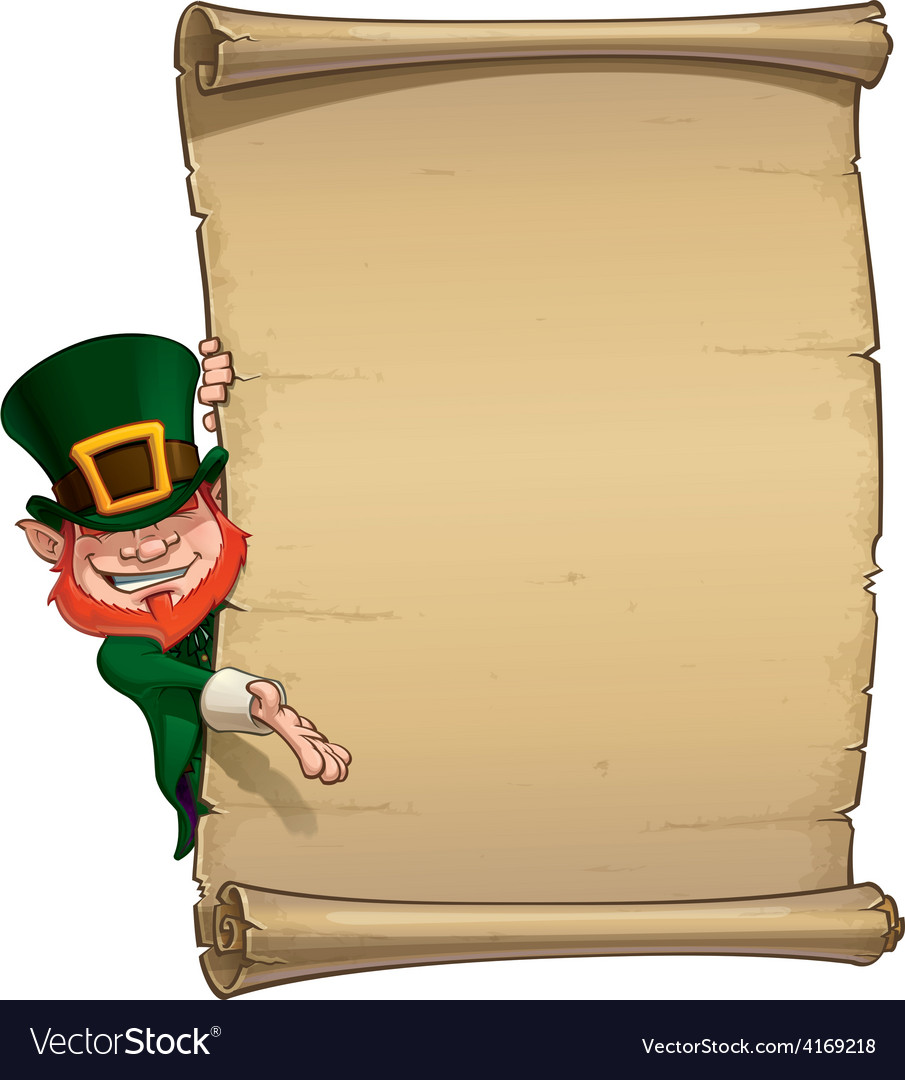 St patrick papyrus vector | Price: 3 Credit (USD $3)