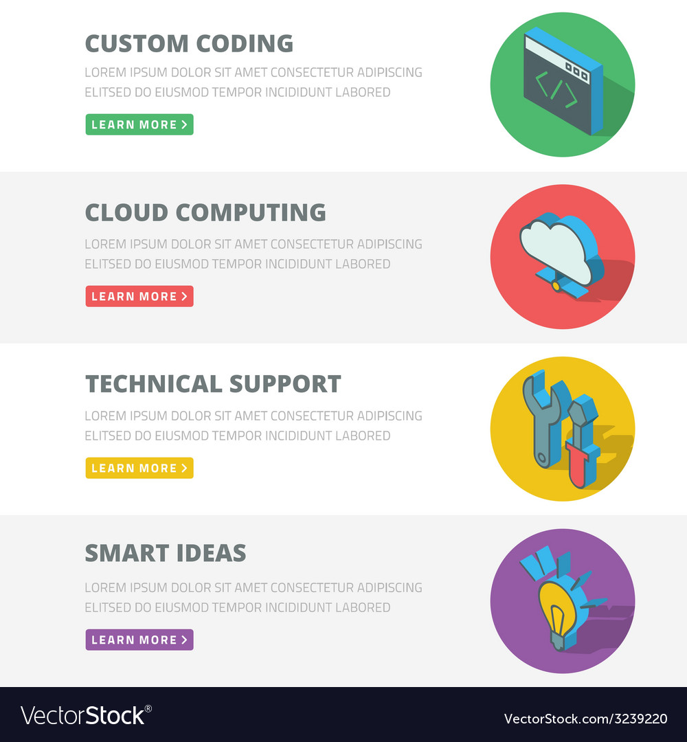 Flat design concept for coding cloud computing vector   Price: 1 Credit (USD $1)