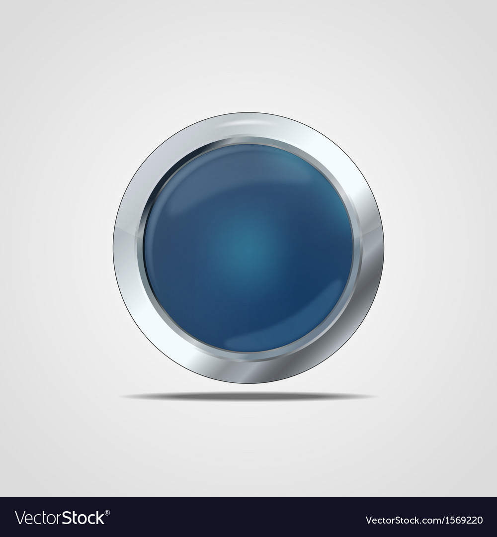 Glass button vector | Price: 1 Credit (USD $1)