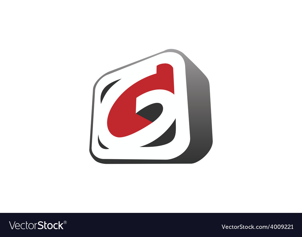 3d letter g business logo vector | Price: 1 Credit (USD $1)